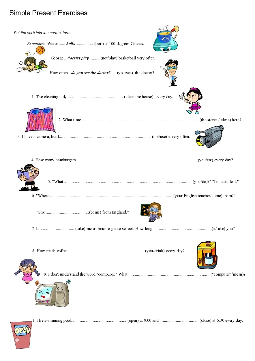 Worksheets Simple Present Tense Worksheets simple present worksheet free worksheets library download and 17 best images about on pinterest grammar lessons tense kids worksheet