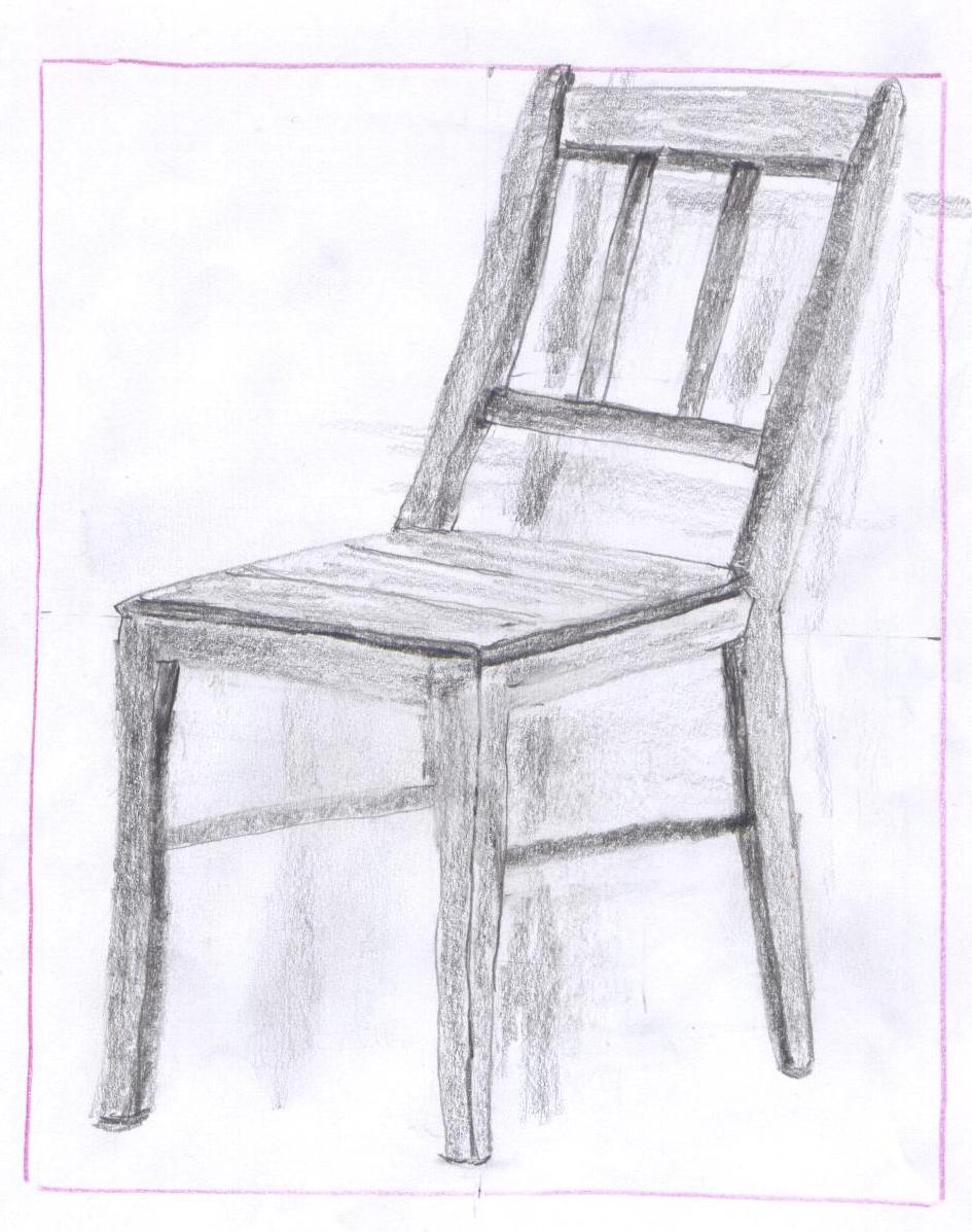 stuhl genial zeichnen lernen
